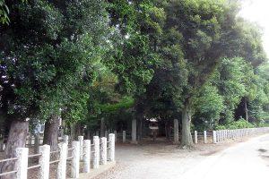 国王神社参道